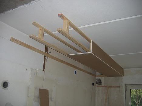 Koof maken aan plafond